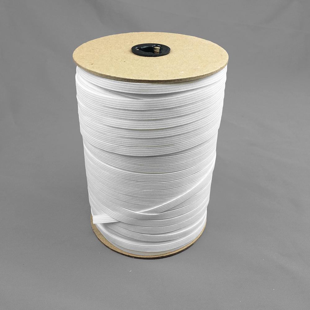14 White Latex free elastic 150 yards