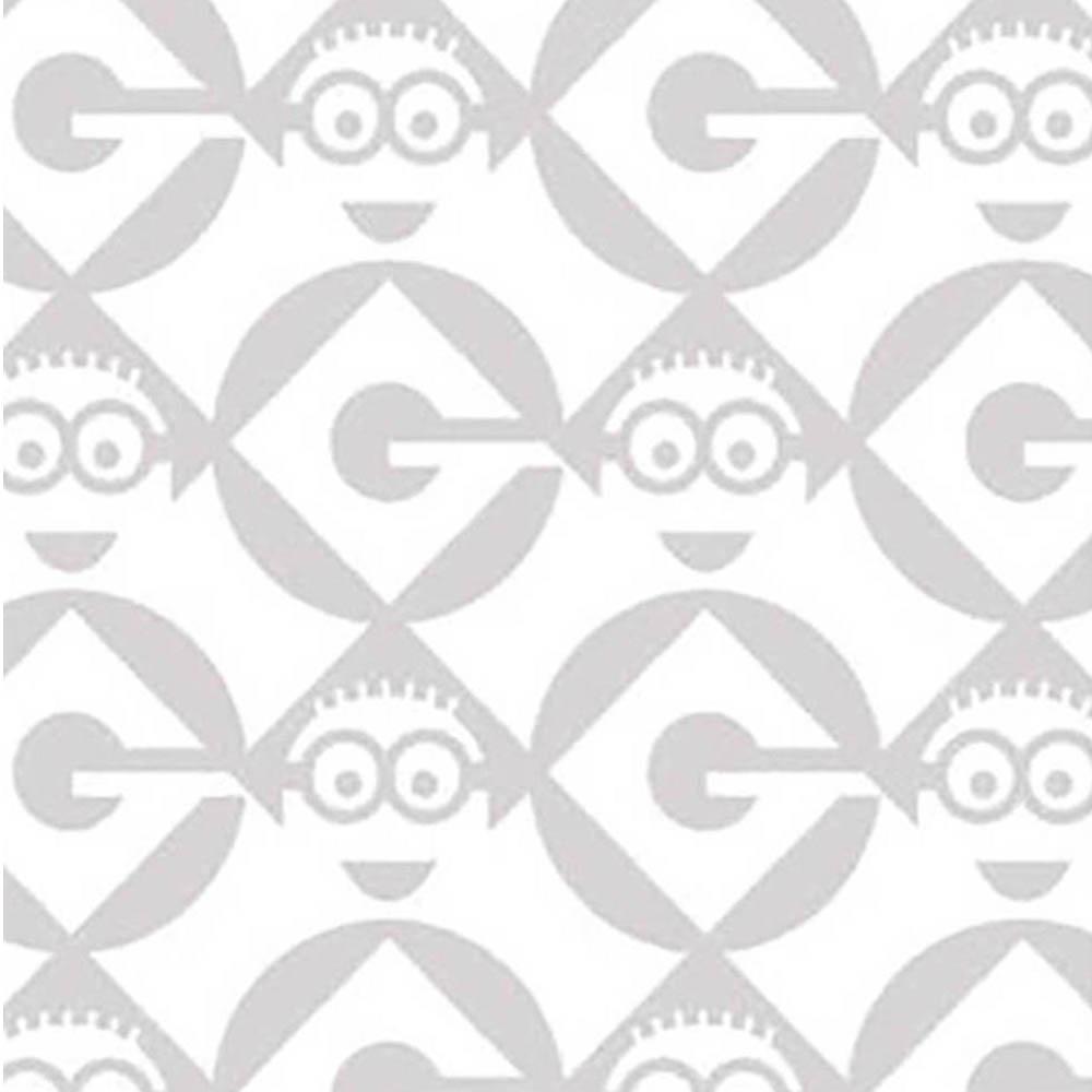 Minion Logo in Gray-www.homesew.com
