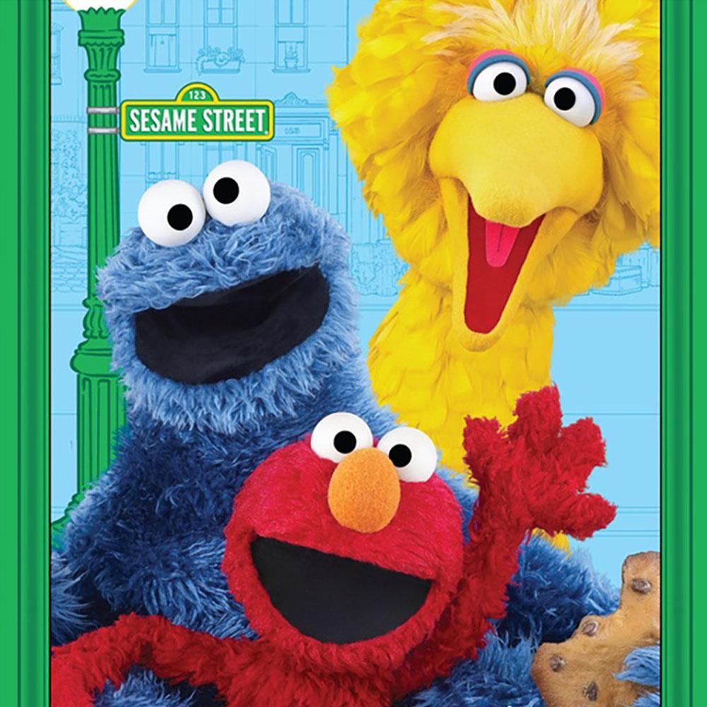 "Sesame Street Characters - 36"" Fabric Panel-www.homesew.com"