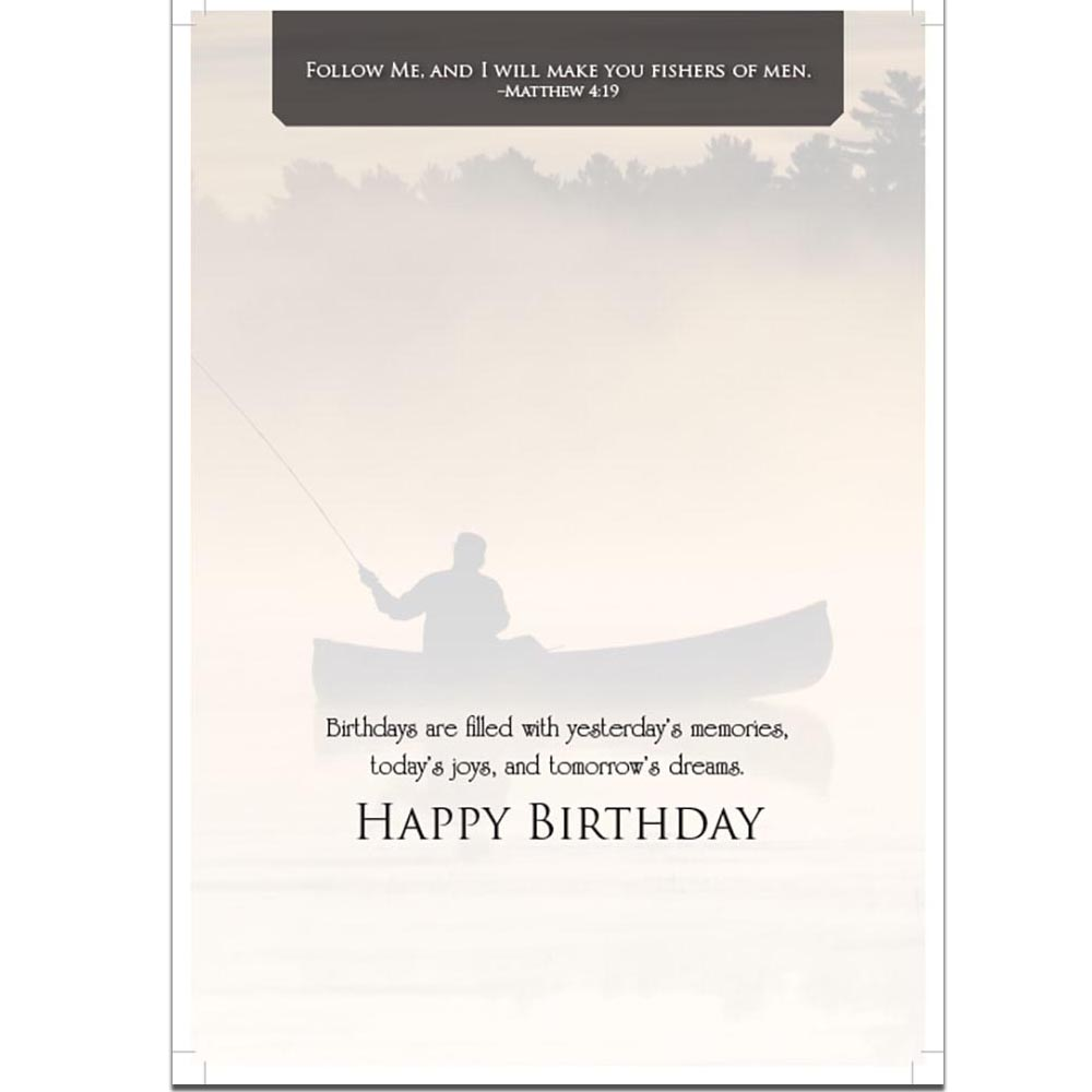 Greeting cards birthday fishing homesew kristyandbryce Choice Image