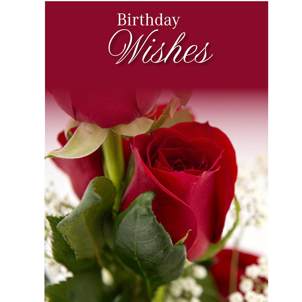 Greeting Cards Birthday Roses