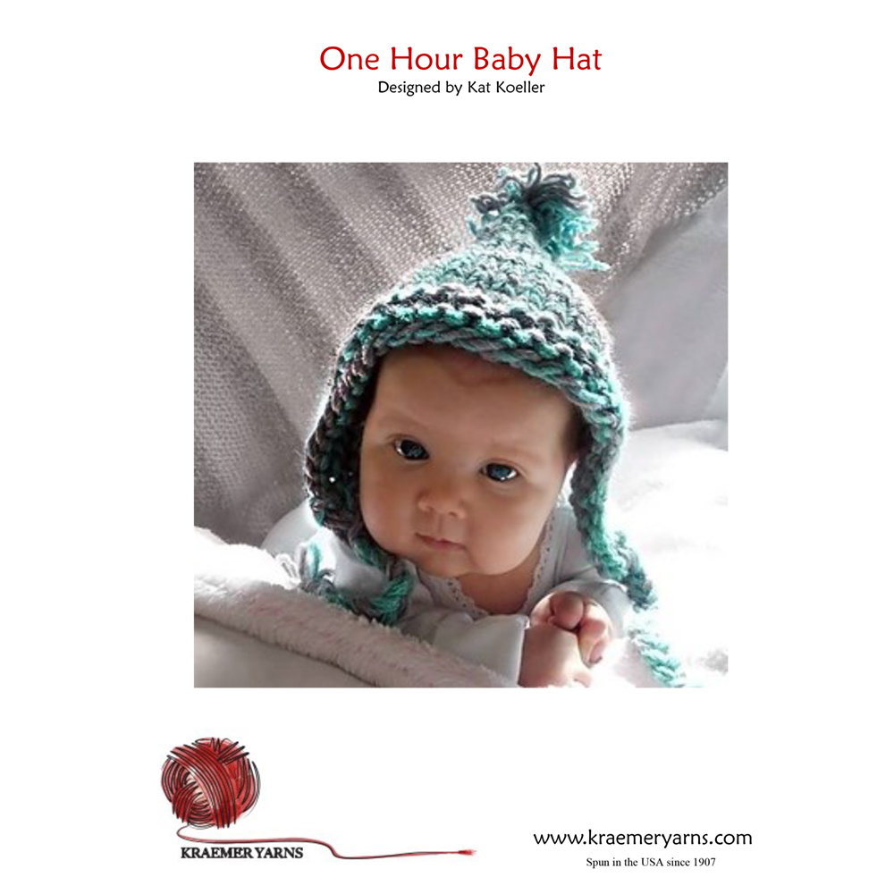 cf55e5e5b6d9 One Hour Baby Hat Pattern-www.homesew.com