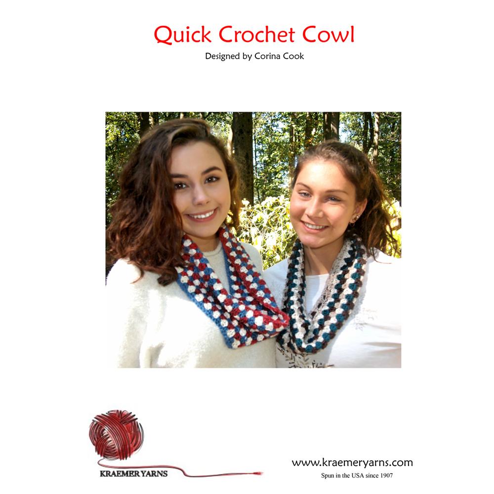 Quick Crochet Cowl Pattern Homesew