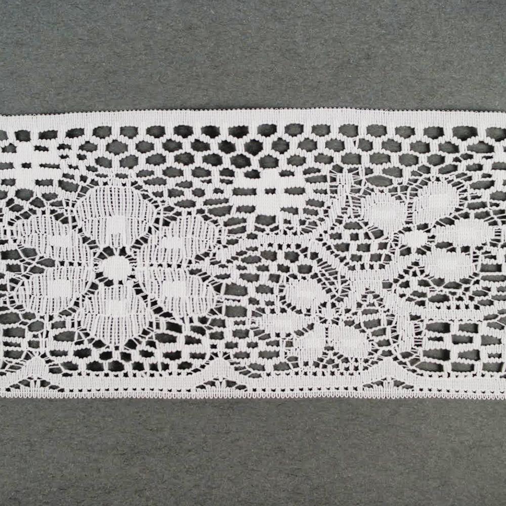 3 3 4 white floral battenburg lace www