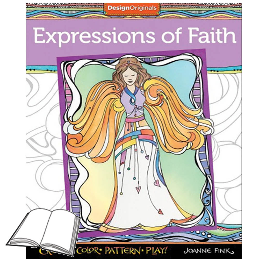 Expressions Of Faith Coloring Book Www Homesew Com