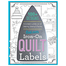 Iron-On-Quilt Labels