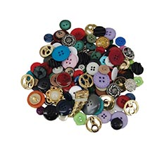 1/4 lb. Assorted Buttons