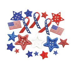 Stars & Stripes Buttons