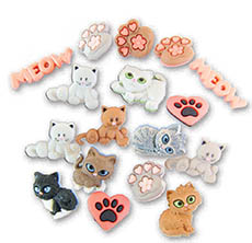 Cute Kitties Buttons