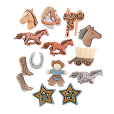 Pony Express Buttons