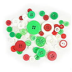 Christmas Mix Buttons