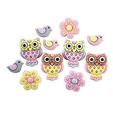Cute Critters Buttons