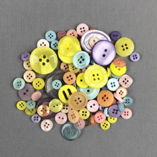 Pastel Color Mix Buttons