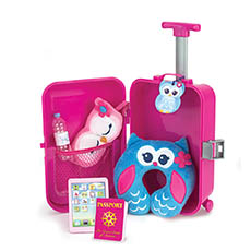 7 Piece Travel & Play Set for Dolls