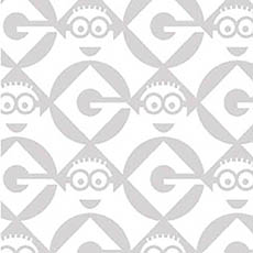 Minion Logo in Gray