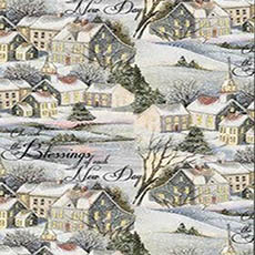Winter Blessings Fabric