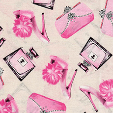 Shoes/Perfume/Purses Fabric