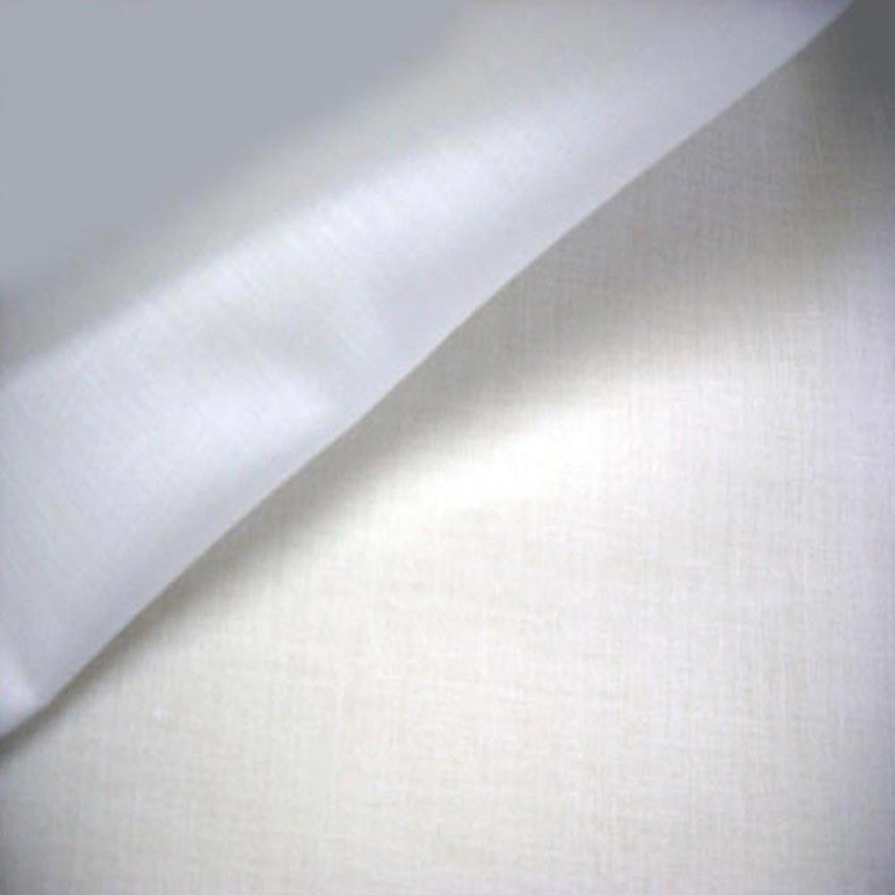 "59"" White Cotton Broadcloth Fabric-www.homesew.com"