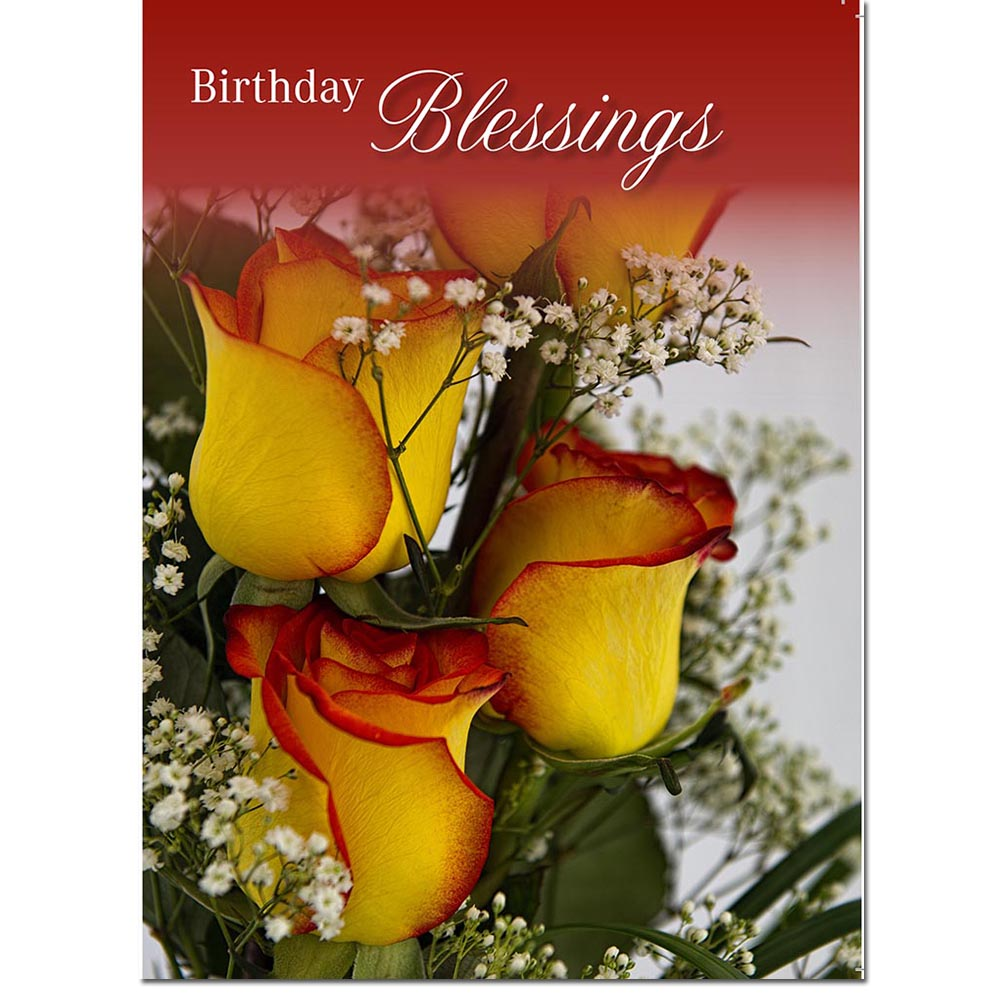 Greeting Cards-Birthday Roses-www.homesew.com