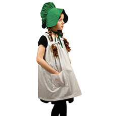 Child's Size Apron and Prairie Hat