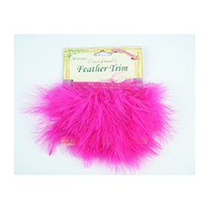 Marabou Feather Trim Tape (2 colors)