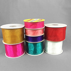 Wired Chiffon Ribbon Assortment (150 yards total)