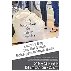 Large Printed Laundry Bag