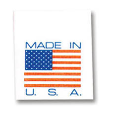 Made in USA - Tyvek Tags