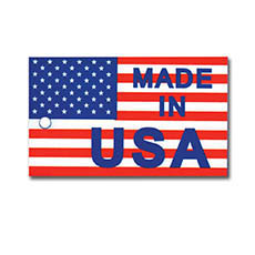 Made in USA Hang Tags