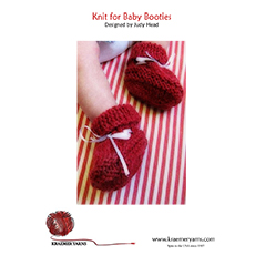 Knit Baby Booties Pattern