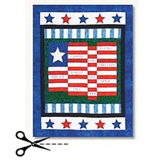 Grand Old Flag Quilt Pattern