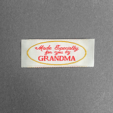 Quick Ship Woven Label Style #200- 10pk