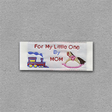 Quick Ship Woven Label Style #205- 10pk