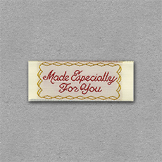 Quick Ship Woven Label Style #207- 10pk