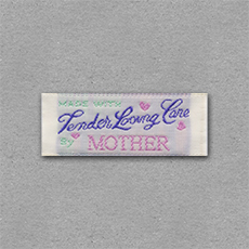 Quick Ship Woven Label Style #210- 10pk