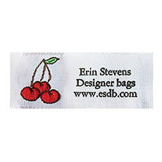 Style 32-(cherries)-Up to 3 Line Label