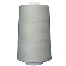 6000 Yd Cones -  2 Cord Polyester Thread- Black, Natural, or White