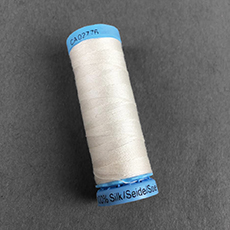 White Silk Thread