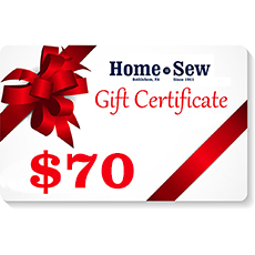 $70 Gift Certificate
