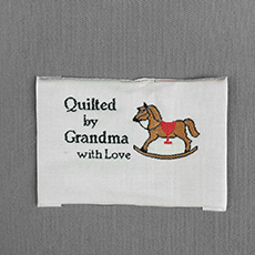 Quilter's Label - Rocking Horse